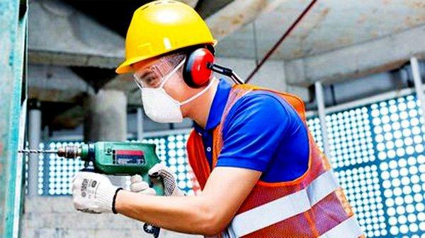 DTC3X N95 Construction Mask